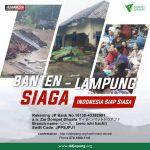 Indonesia Siaga Tsunami Banten-Lampung