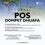 Pos Lapangan Dompet Dhuafa di Banten dan Lampung