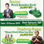 Seminar Ippho Santosa dan Nongkrong Bareng Hanan Attaki
