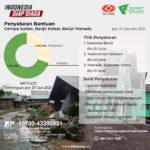 Indonesia Siap Siaga – Penyaluran Bantuan di Sulbar, Kalsel, dan Manado